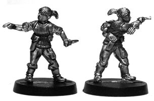 Rachael Knight 28mm miniature