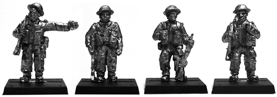British Sentries