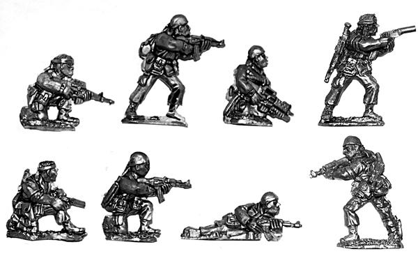 Vietnam War US Special Forces Firefight