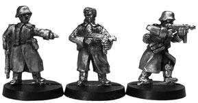 German Stormtroopers with Greatcoats