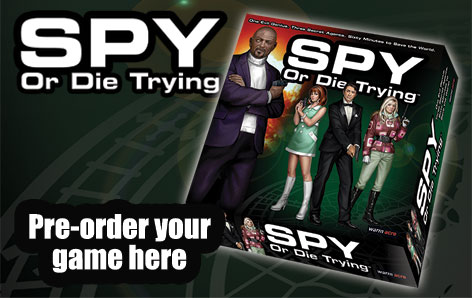 Spy or Die Trying pre-orders