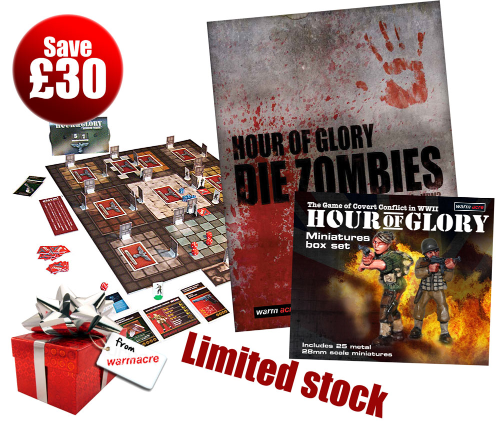 Hour of Glory Xmas 'Zombie' Bundle