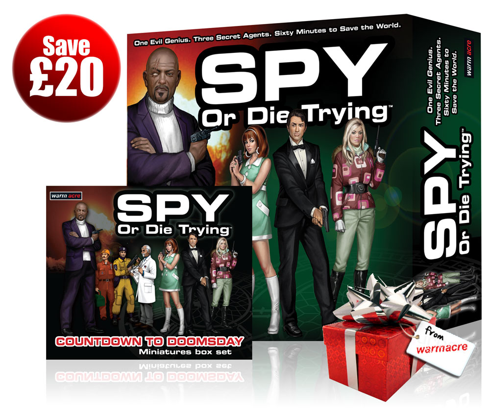 Spy or Die Trying Xmas Bundle